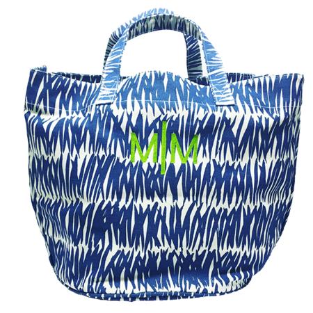 monogrammed-beach-bag