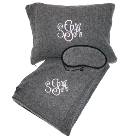 monogrammed-cashmere-travel-set