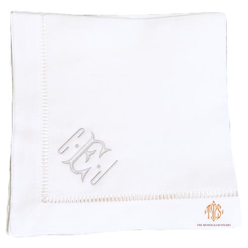 monogrammed-linen-napkins-heirloom-napkins-modern-linen-napkins
