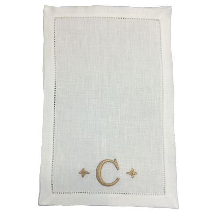 monogram-cocktail-napkins