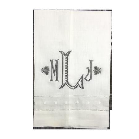 swiss-dot-hemstich-towel