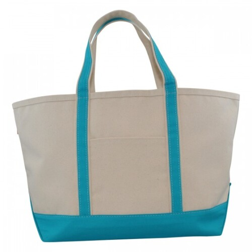Large Boat Tote Turquoise