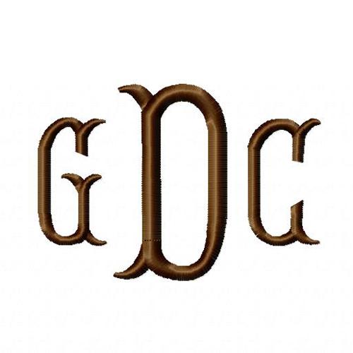 three_initial_monogram