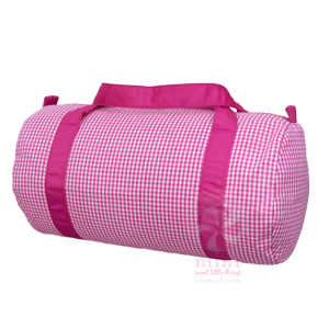 gingham-duffel-bag