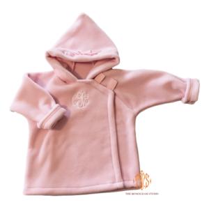personalized-widgeon-fleece-pink