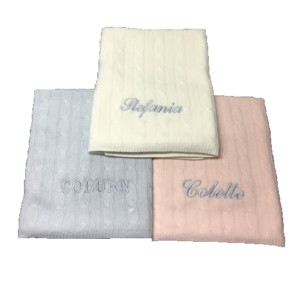 monogrammed-baby-blanket