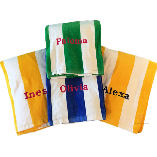 cabana-stripe-towel-personalized-beach-towel