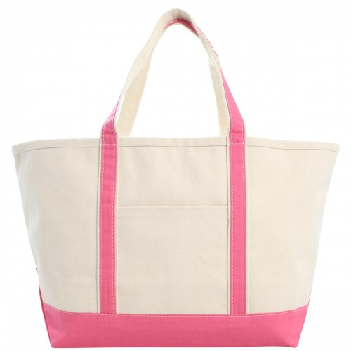 boat-tote-coral-canvas-monogrammed