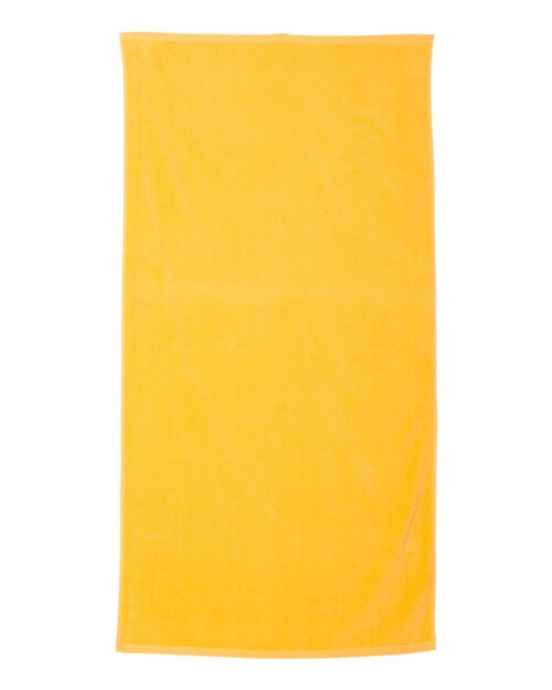 personalized-camp-towel-yellow