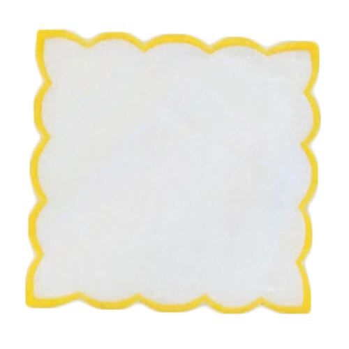 monogrammed-scalloped-cocktail-napkin