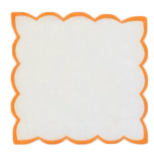 scalloped-cocktail-napkin-orange