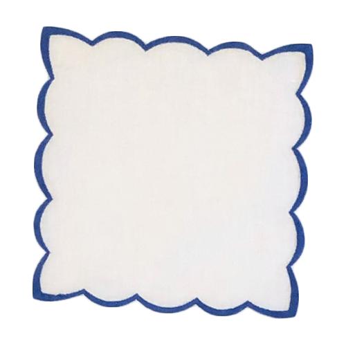 scalloped--linen-cocktail-napkin-6x6-NAVY